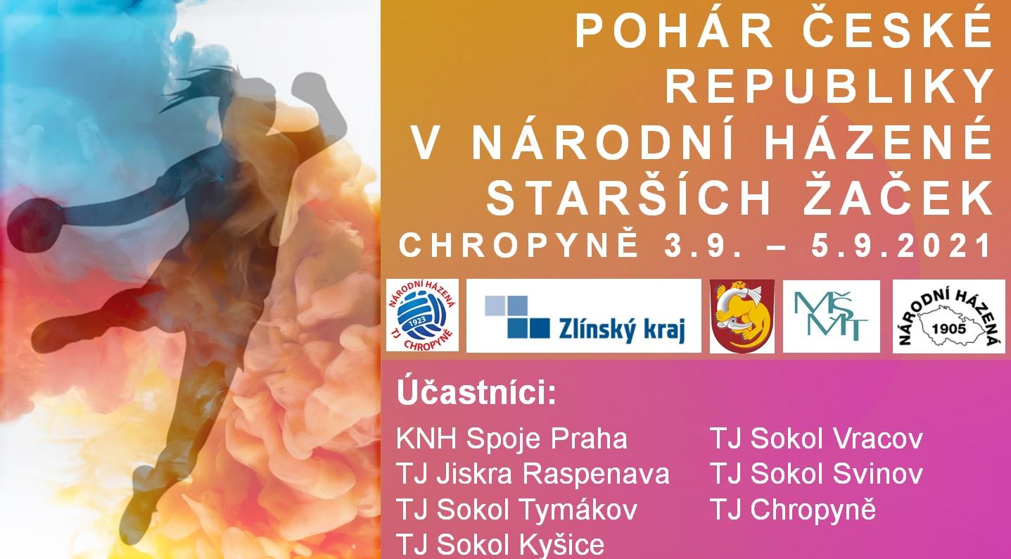 Pohár ČR v národní házené, kat. starší žačky